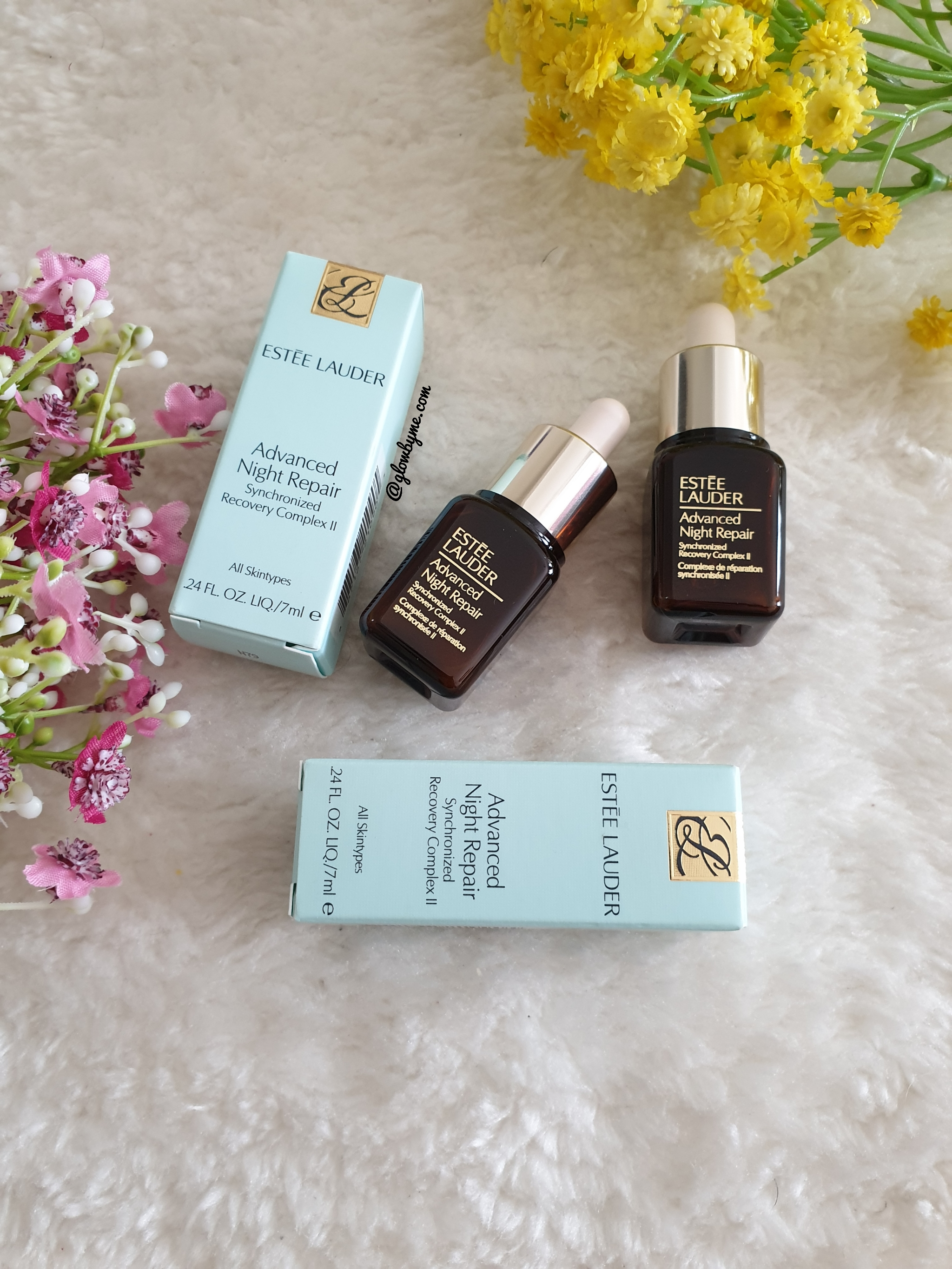 Review Estee Lauder Advanced Night Repair Synchronized Recovery Complex Ii Glow By Me